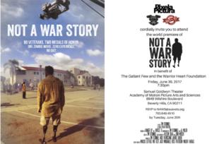Not A War Story To Fill Samuel Goldwyn Theater
