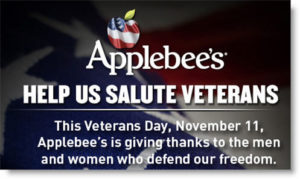 applebees-veterans-day