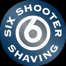six shooter shaving