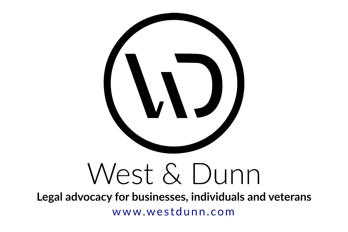 West and Dunn Veterans Advocacy logo