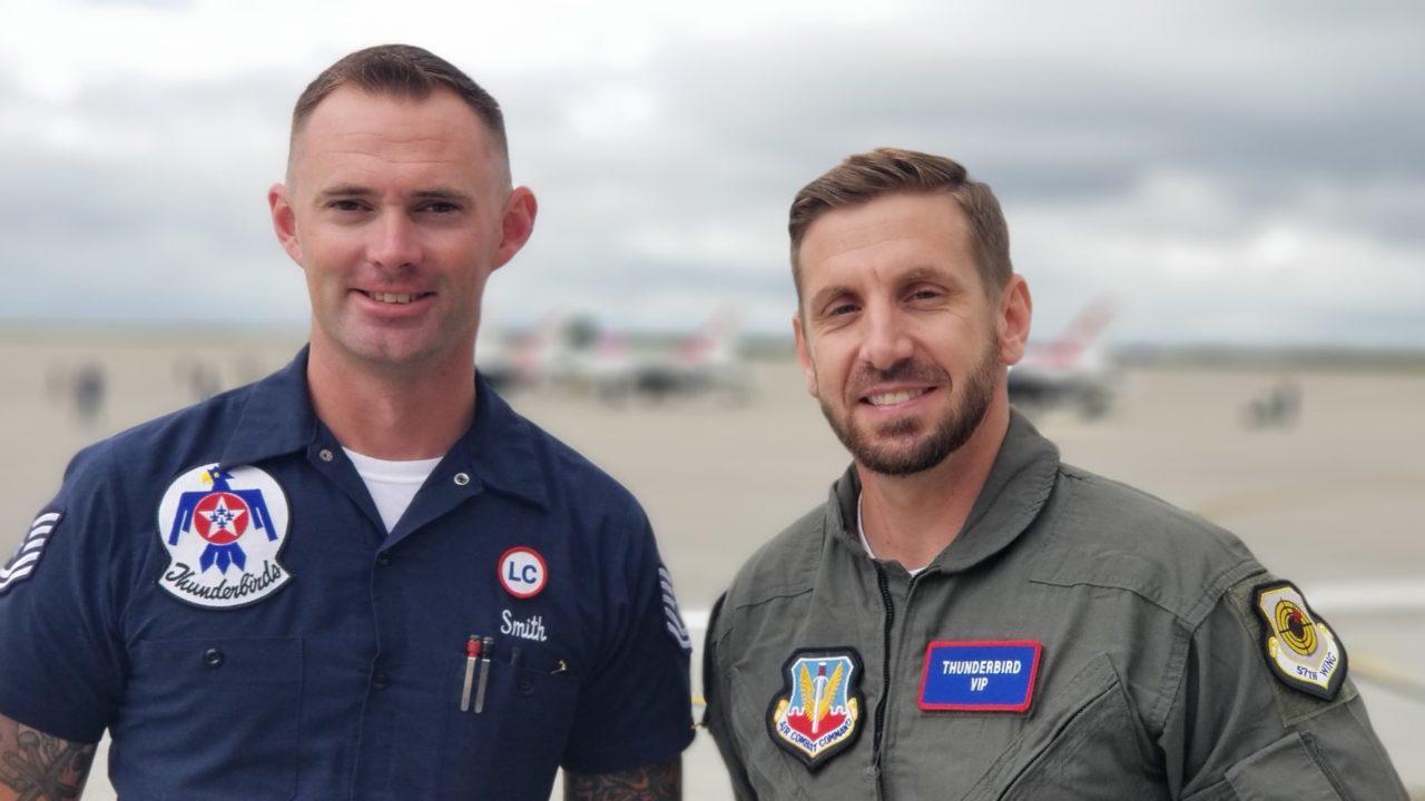 Army Veteran Flies with the Thunderbirds
