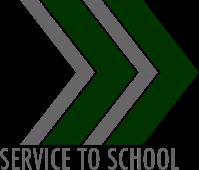 Service to School logo