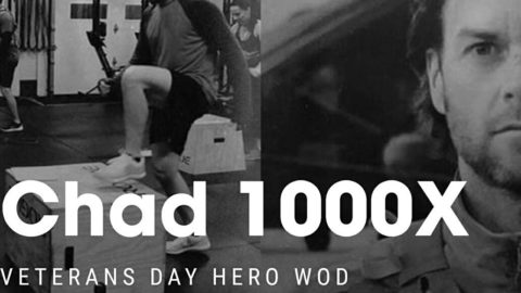 Chad1000x Workout graphic