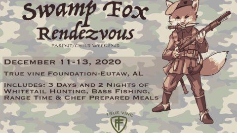 Flyer for Swamp Fox Rendezvous event