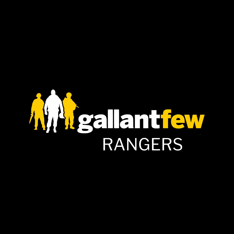 gallantfew logo with word rangers under it