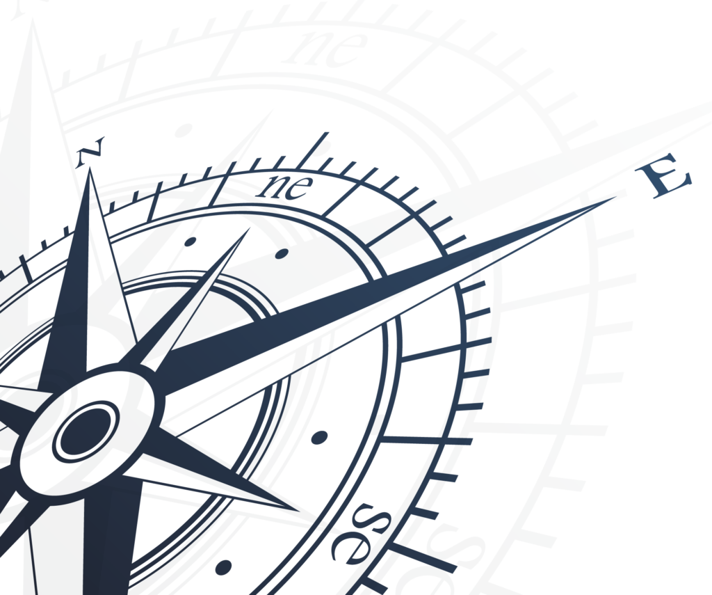 part of a digital drawing compass