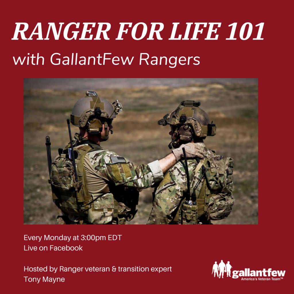 ranger for life 101 announcement