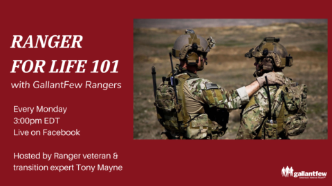 announcement for Ranger for Life Brief